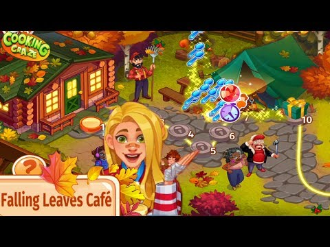 Cooking Craze/ Falling Leaves Café Event/ Levels 1- 40