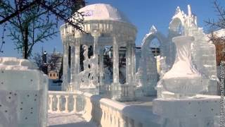 Ice Sculpture Festival in Harbin   Фестиваль ледяных скульптур в Харбине