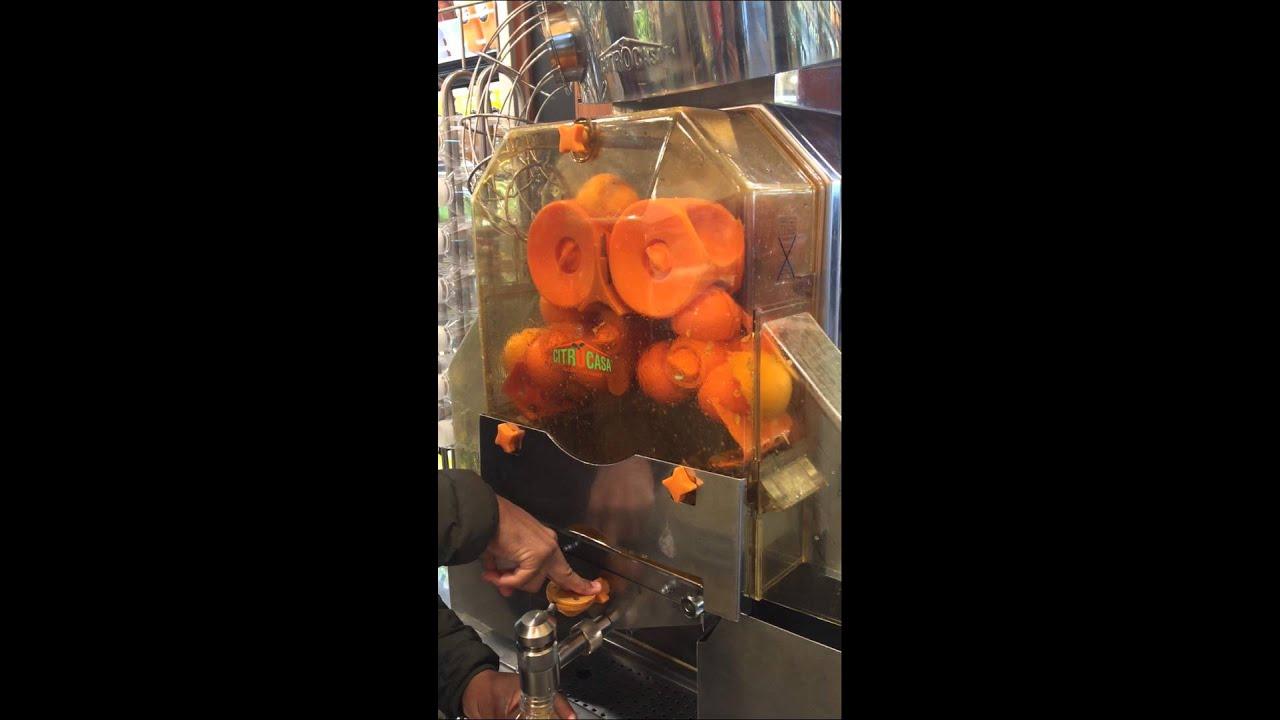 whole foods orange juice machine youtube. Black Bedroom Furniture Sets. Home Design Ideas