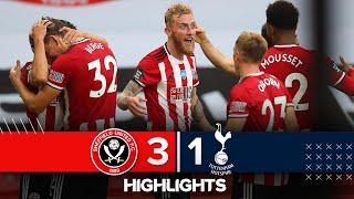 Sheffield United 3 1 Tottenham Hotspur | Premier League Highlights | Sander Berge Nets Against Spurs