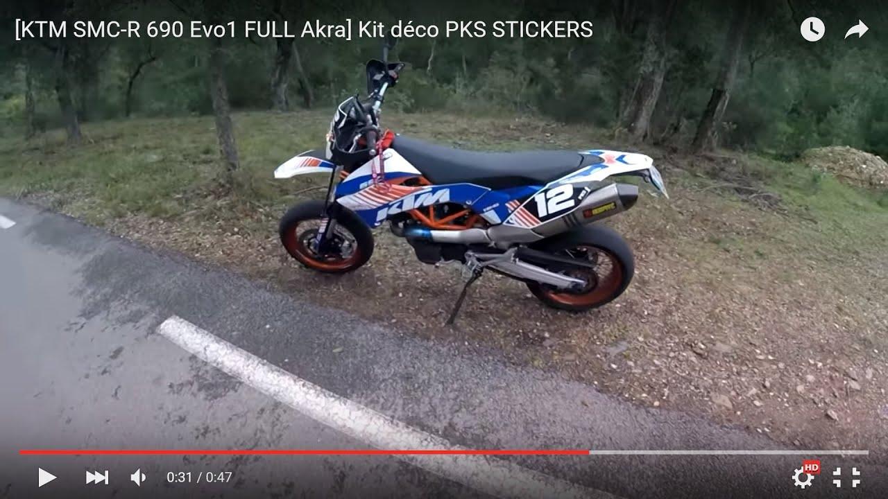 ktm smc r 690 evo1 akra kit d 233 co pks stickers