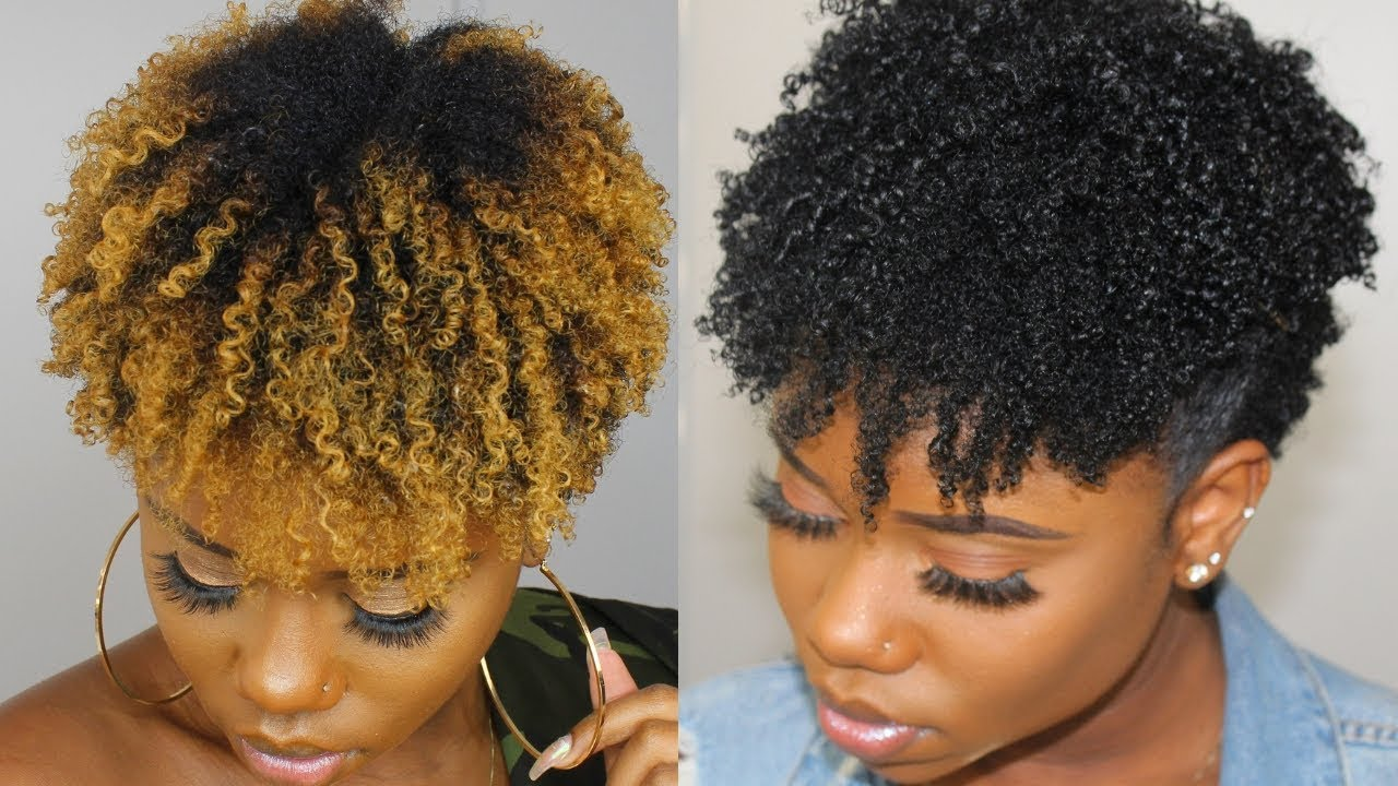 Back To Black Dye Bleached Natural Hair Black Within 30 Minutes Youtube