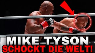 Mike Tyson VS Roy Jones Jr.! WAS EIN KRASSER KAMPF!