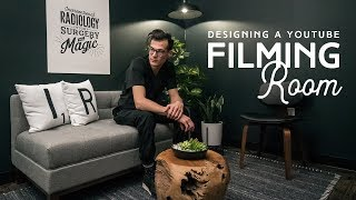 How To Design A YouTube Filming Room