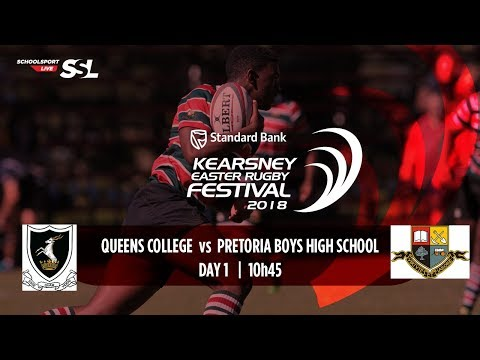 KERF - Queen's College XV vs Pretoria Boys High XV, 29 March 2018
