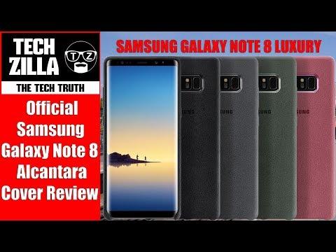 Official Samsung Galaxy Note 8 Alcantara Cover