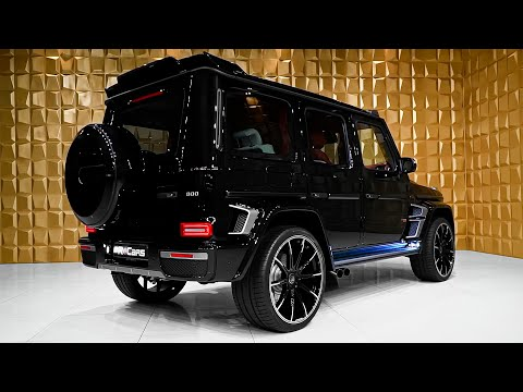 BRABUS 800 (2020) Mercedes AMG G 63 - Interior and Exterior Details