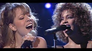 Hero - Whitney Houston Duet Mariah Carey