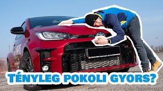 Vigyázz, jön a pusztító Yaris - Toyota GR Yaris teszt