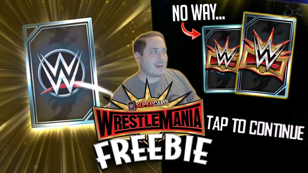 YOU WON'T BELIEVE WHO WAS MY FIRST WRESTLEMANIA 35 CARD!! | WWE SuperCard S5
