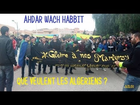 "ALGÉRIE DIRECT 21h00 (Paris) ""AHDAR WACH HABBIT"" 12/12/2017"