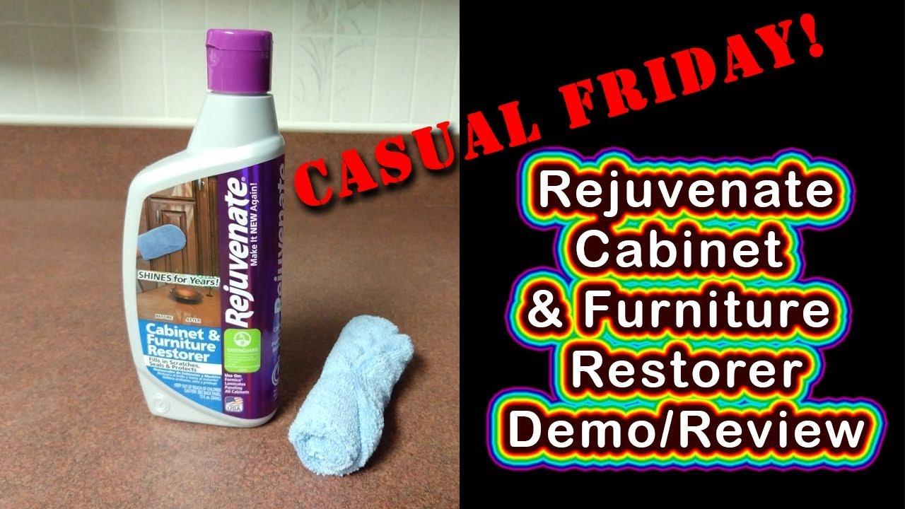 Rejuvenate Cabinet U0026 Furniture Restorer   Review U0026 Demo Tutorial