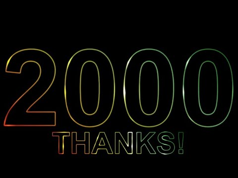 2000 subs special timer with music 🎵🎵🎵 - Thanks to y'all, much love! 💖