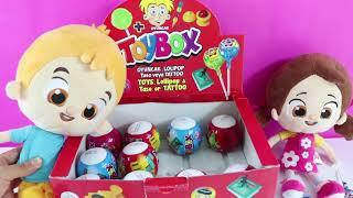 ToyBox Sürpriz Yumurtalar Açıyoruz Niloya ile Beraber Oyuncak Kutusu Açma