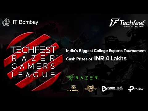 Techfest IIT Bombay | Razer Gaming League Trailer | cs:go,Dota 2