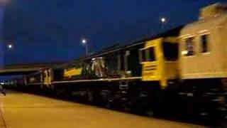 GEXR Export train, GBRf, Euro Cargo & FL Class 66's