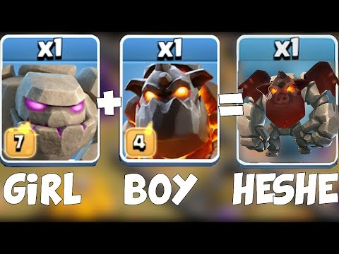 WHAT GENDER ARE THESE TROOPS?! | Clash Of Clans | Valentines Day Final