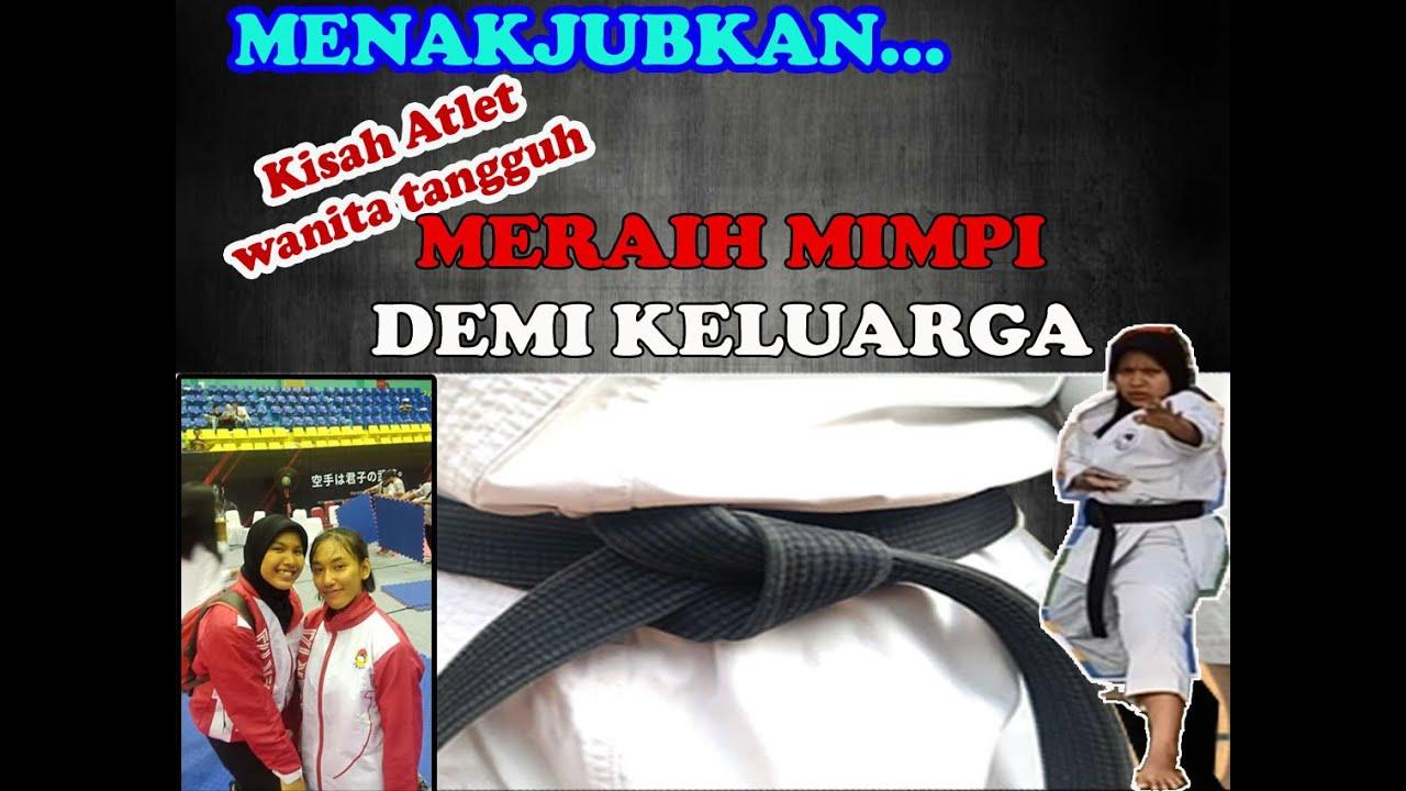 Sinta Atlet Karate Wanita Pengukir Prestasi BERJUANG UNTUK BISA DITERIMA DI UNJ I 2020