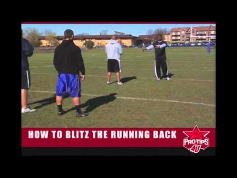 Football Tips: How to Blitz the Running Back with Nick Roach
