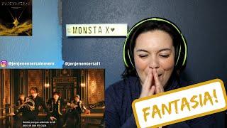 MONSTA X 몬스타엑스 'FANTASIA' MV REACTION!!!