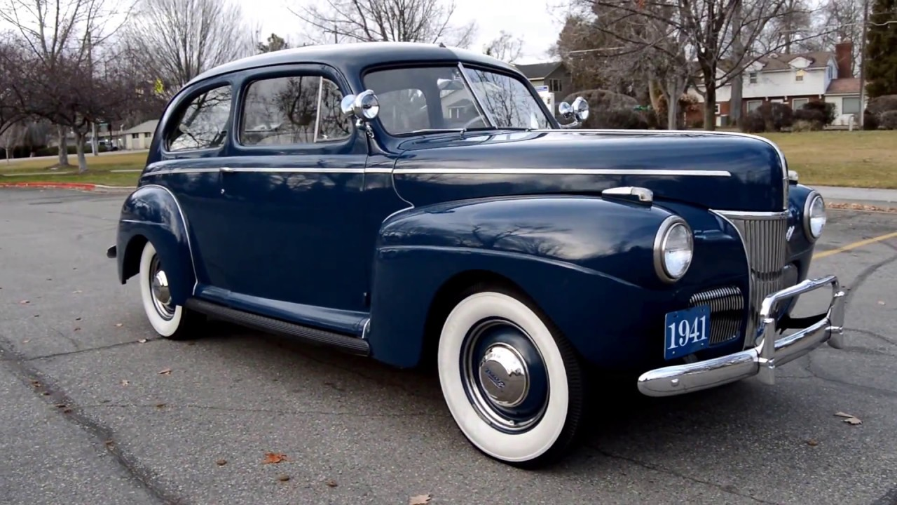 1941 Ford Super Deluxe Sedan - Ross\'s Valley Auto Sales - Boise ...