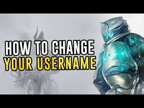 How To Change Your Name/Alias In Warframe!