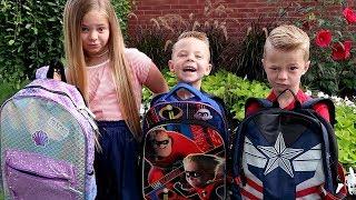 1st DAY of SCHOOL! Boston Goes to Kindergarten
