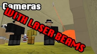 Roblox In Plain Sight - CAMERAS WITH LASER BEAMS