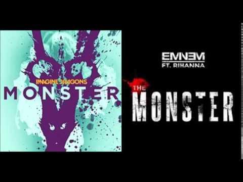 текст песни imagine dragons - monster. Слушать песню Imagine Dragons and Eminem feat. Rihanna (mashup) - Monster²