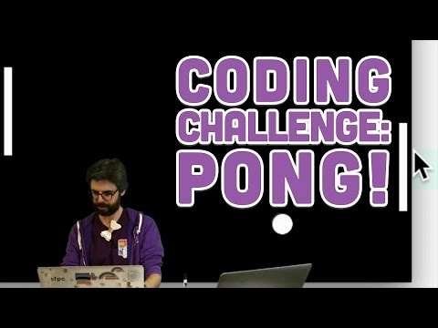 Coding Challenge #67: Pong!