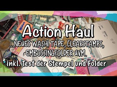 XL Action Haul (deutsch) neue Embossingfolder und Clearstamps, Scrapbook, DIY