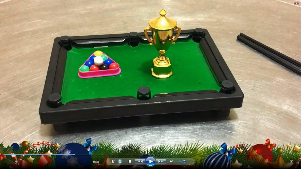 Mini Table Top Pool Snooker Billiards Toy   Billiards Set & Snooker ...