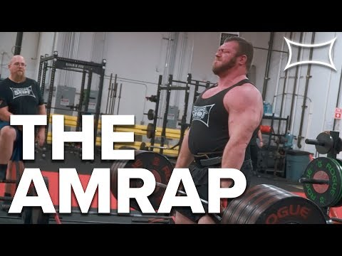 The AMRAP - A Means of Accumulating More Volume