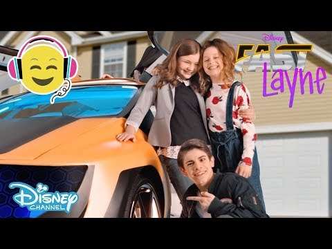 Fast Layne  NEW Theme Song 🎶  Disney Channel UK