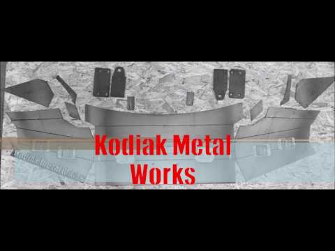 DIY 99-04 Ford super duty front bumper / Kodiak Metal Works