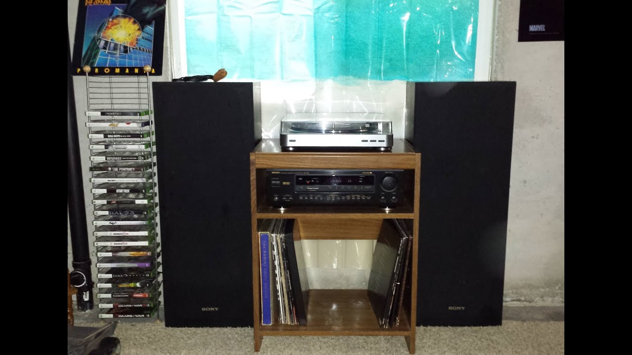 Denon Avr 1600 W Sony Speakers And Audio Technica