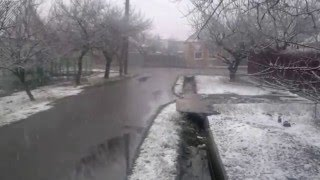 22 Марта пошел снег!!!