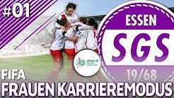FIFA Frauen Karrieremodus #01 - WILLKOMMEN IN ESSEN! | FIFA Frauen Bundesliga [S01EP01]