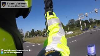 VIP begeleiding / Police escort voorz. Duitse Bondsraad vanaf Min. EZ naar Vredespaleis 26-08-2016