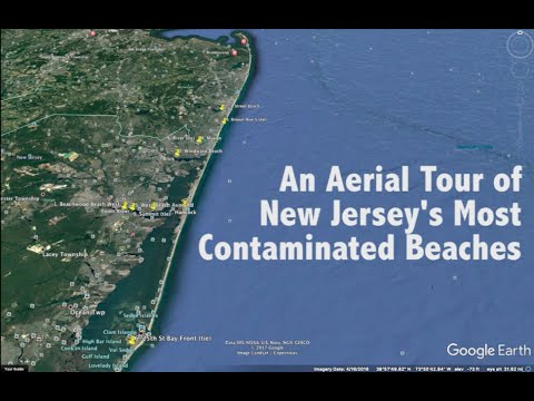 An Aerial Tour of New Jersey's Most Contaminated Beaches