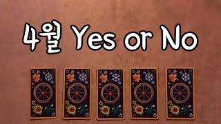 [타로] 2020년 4월 Yes or No | A or B | 어떤 선택을 해야 내 사랑에 도움이 될까? |…