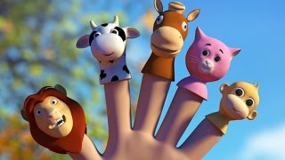 Animals Finger Family | Nursery Rhymes Song For Babies | 3D Rhyme Children's Video(VISIT OUR OFFICIAL WEBSITE : https://www.uspstudios.co/ WATCH KIDS TV VIDEOS ON OUR WEBSITE : https://www.uspstudios.co/creation/channel/kids-tv/1 ..., 2016-04-06T12:34:31.000Z)