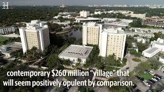"""A residential """"village"""" will replace UM four dorm towers"""