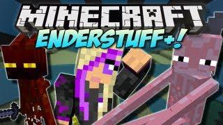 Minecraft | ENDERSTUFF+ (Enderwoman!) | Mod Showcase [1.5]