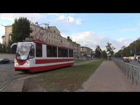 St. Petersburg Tram, Part 5. Moskovsky Prospekt. Трамвай Петербурга, часть 5. Московский проспект