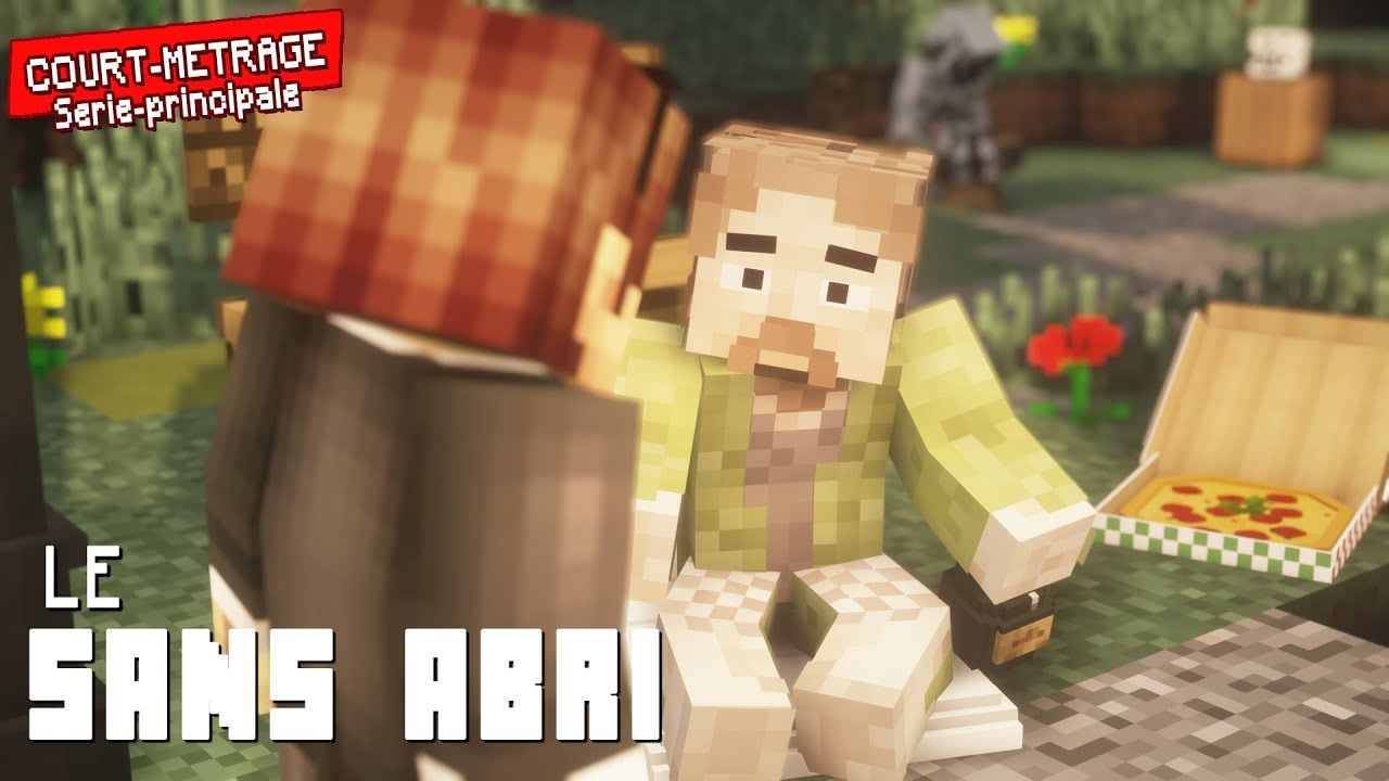 Le sans abri [Court métrage Minecraft]