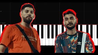 Canbay ft  Wolker - Fersah - Piano Tutorial by VN Resimi