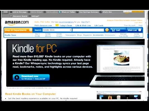 How to Get Free Kindle for PC Software
