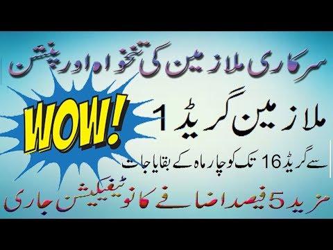 Govt Employees News Regarding Salary Increase 2017 in Pakistan