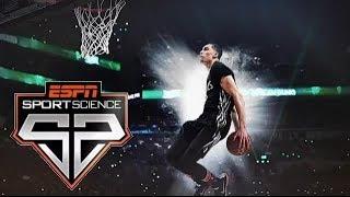 NBA《スポーツサイエンス》ザック・ラビーンのダンクスキル(2015年9月)